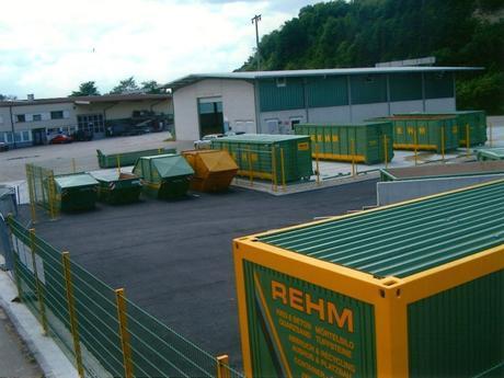 Neubau Betonwerk / Recyclinghof / Webseite