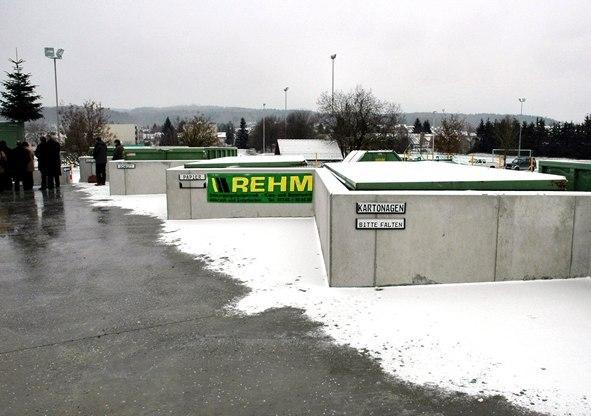 Neubau Recyclinghof